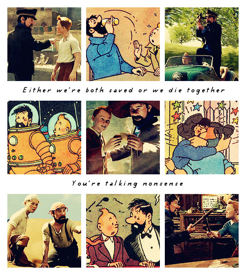 chaostrick:  ♦ Tintin and Captain Archibald Haddock