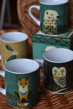 Beautiful Tom Frost #owl mug.