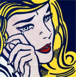 collectivehistory:  Crying girl by Roy Lichtenstein, 1964