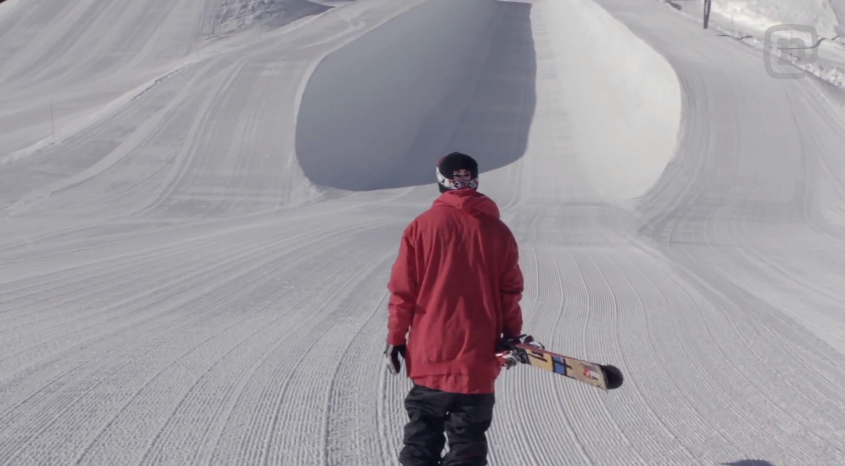 Simon Dumont scores the Aspen superpipe all to himself and puts in some training on the alley-oop double 1080! Watch #DropIn ep 3: http://youtu.be/B_RxnCrTGto