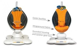 MamaRoo Baby Cradle Maker: 4moms $239.00 USD [note: seriously cool, but nothing beats being rocked in mum's real arms]