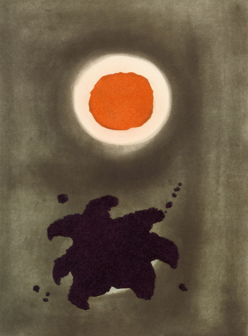 cavetocanvas:  Adolph Gottlieb, Night Glow, 1971