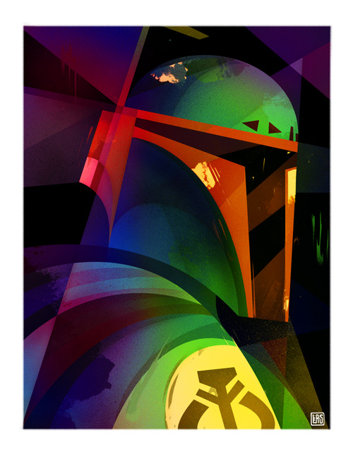 Beautifully Stylised Star Wars Boba Fett, Stormtrooper & Darth Vader Art By Carlos Lerms http://bit.ly/17fPFVO           Source  Some beautifully stylised Star Wars art by Carlos Lerms.Related Fly Posts