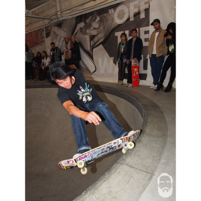 House of Vans BBQ lastnight Henry Godd gets full frontal with this 5-0 photo: peter pabon (@thewastedtalent)