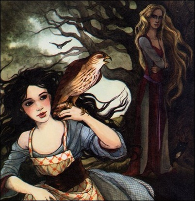 colorwheels14:  from Snow White, illustrated by Trina Schart Hyman