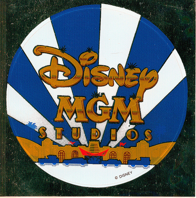 sticker—disney mgm studios by wax poetic on Flickr.