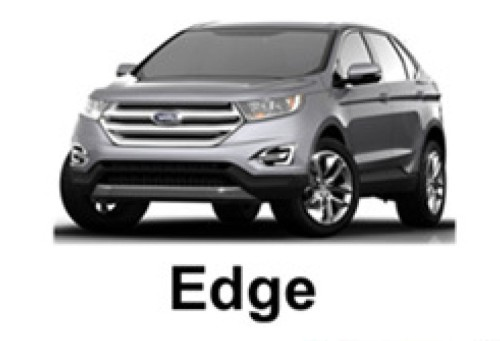 Photo of the 2015 Ford Edge was leaked in the Deutsche Bank Global Auto Industry Conference in a Powerpoint presentation. Whoops!