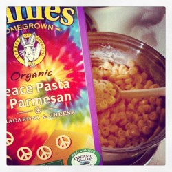 Hippie pasta. Im down.
