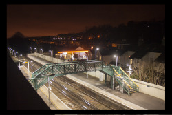 On the way home, final shot, Whyteleafe south train station…