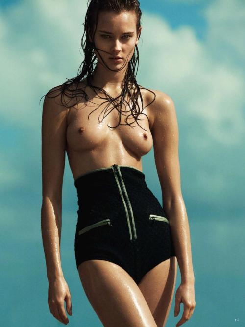 Jac Jagaciak by Greg Kadel for Vogue Germany June