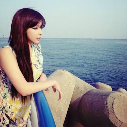 "ygladies:  [130421] BOM's Instagram: ""In Busan"" BREATHTAKING!"