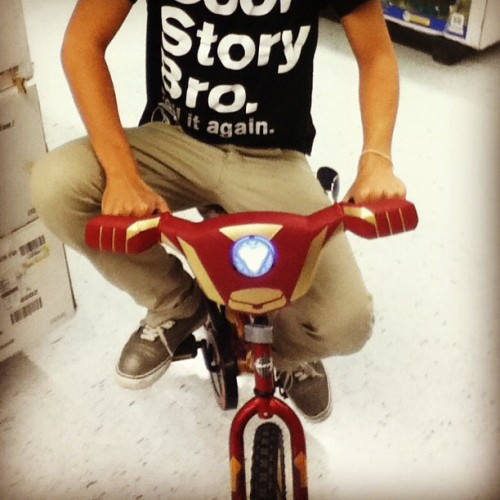 If I had this #ironman #bike as a kid I would be the coolest of them of all #hipster #coolkid