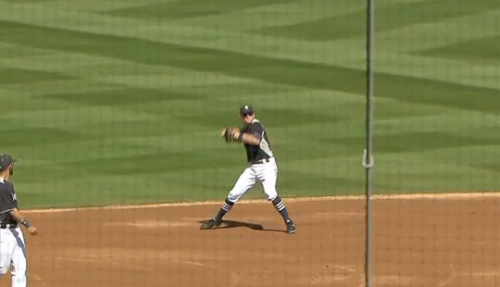 Brendan Ryan was wearing some nice striped stirrups for the Mariners a few days ago.  I love the look and hope that it will make it all the way to the regular season.    LONG LIVE THE STIRRUP!