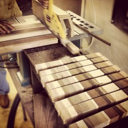 Making checker styled cutting boards. #thecuttingboardproject #woodshop #woodshoplife #urbancitywoodshop #handmade #americanmade #cuttingboard (at urban city wood shop)