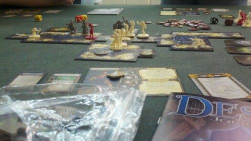 Playing Descent 2nd edition.