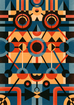 ben-newman-illustration:  MASK 03 (2011)© Ben Newman