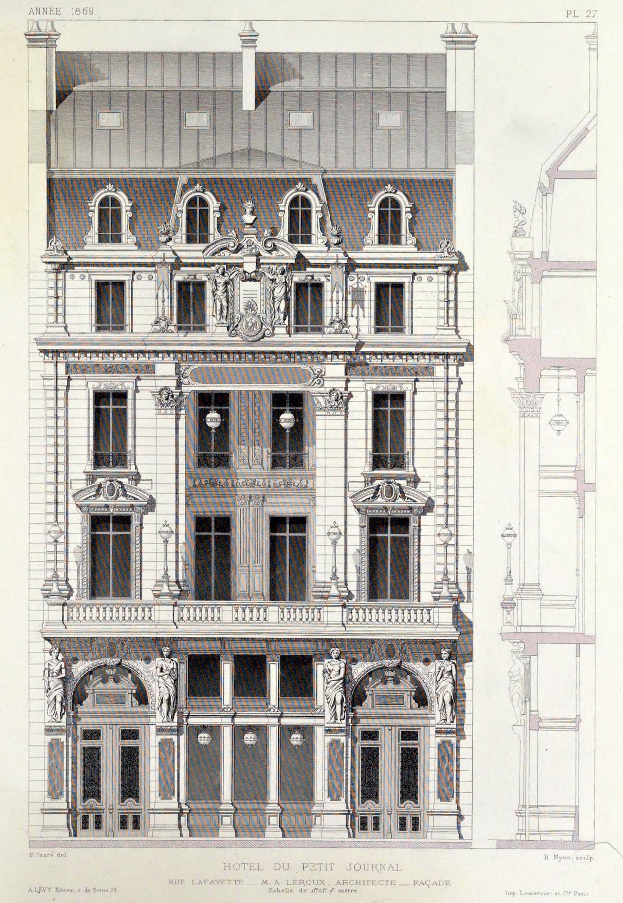 Hotel Lafayette  Rue Lafayette  Paris