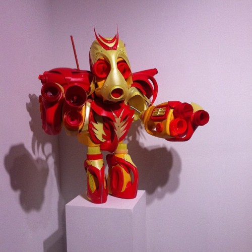 Dan Walker  robot monkey (at Gregg Shienbaum Fine Art)