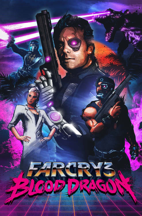 gamefreaksnz:  Far Cry 3: Blood Dragon gameplay footage leaked  Some footage from Ubisoft's upcoming 80s-inspired Far Cry 3 add-on has leaked onto the web today.