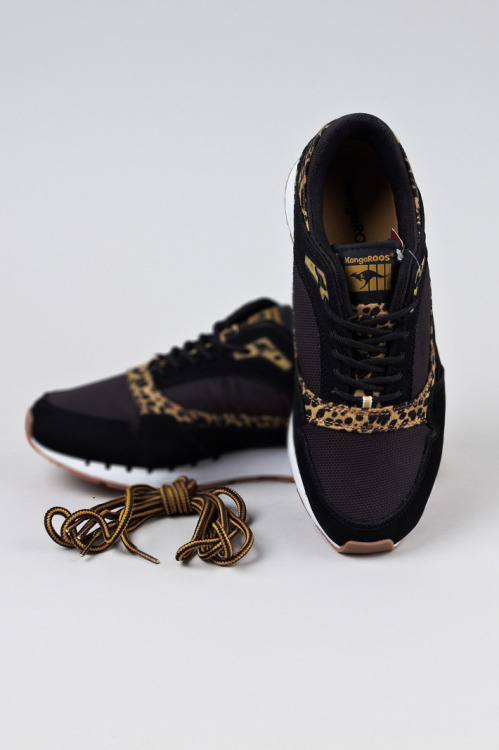 shoe-pornn:  KangaROOS-Rage Animal Pack-Black Leopard.