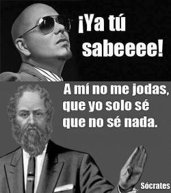 nosomosperfectos:  Pitbull VS Sócrates