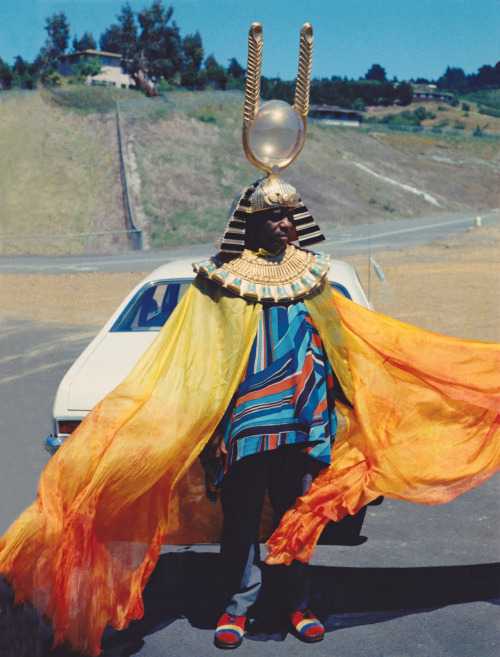 ferrarisheppard:  Mr. Sun Ra in brilliant color. (via PictureBox Inc)