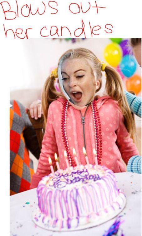 Happy birthday Lindsay!