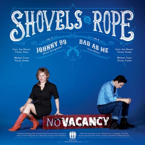 "Shovels and Rope cover Bruce Springsteen, Tom Waits for Jack White's label - Charleston City Paper  Take a listen to S&R's rendition of The Boss' ""Johnny 99,"" one of the songs from the new Third Man Records 7"" release, now available for pre-order."