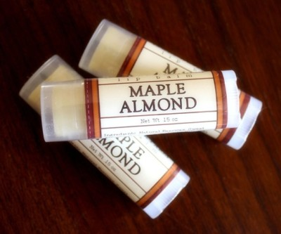 """Maple Almond"" Lip Balm by LongWinterSoapCo"