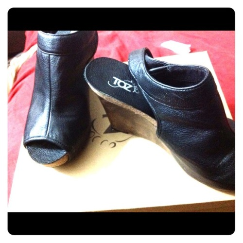 I just added this to my closet on Poshmark: Black wedge sandal. Toz brand from Bakers. (http://bit.ly/17cvWC2) #poshmark #fashion #shopping #shopmycloset