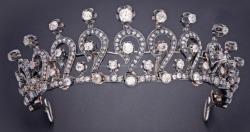 Diamond tiara. Early 1900s