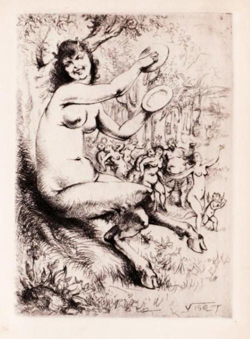 venusmilk:  Viset (Luc Lafnet)…Satyr.. Louis Perceau…Le Cabinet Secret du Parnasse 1932 (source)