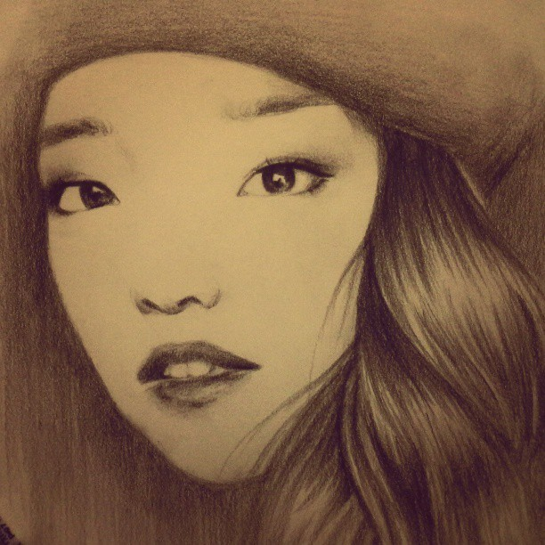Close up. #art #drawing #portrait #sketch #jennim #clothesencounters