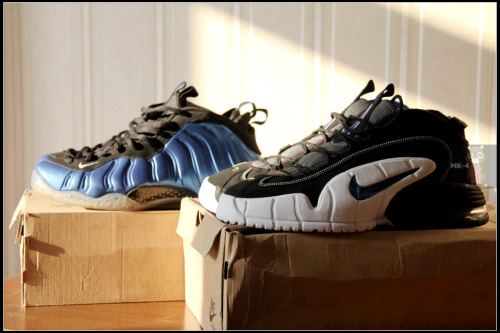 AIR MAX PENNY 1 & AIR FOAMPOSITE ONE