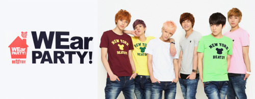 TEEN TOP for Be@Toy x