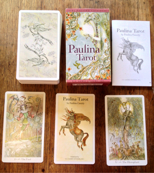 nwyfre:  PAULINA TAROT GIVEAWAY!(apologies for the crappy photo quality, my phone wasn't co-operating today.) I've had this deck for a while gathering dust, I was originally drawn in by the artwork but we just never connected enough for me to even pick them up (yikes). It's a beautiful deck and I'd hate for it to stay neglected, so I'm doing a giveaway to find it a new home! In good as new condition, hasn't even been shuffled. WINNER WILL BE DRAWN ON MONDAY THE 25TH OF MARCH. Rules:- Must be following me I will check that the winner is a follower at the time of draw.- Reblog limit is once per day between now and the draw date (meaning a maximum of 14 entries in total per person). Likes do not count.- My pre existing followers all start with one entry in the draw automatically, no need to reblog (unless you want more entries, you can have up to 15). If there is any confusion or questions, feel free to come to my ask box!  She could come live with her sister, the Joie de Vivre! They would have matching hot pink apartments and everything :)