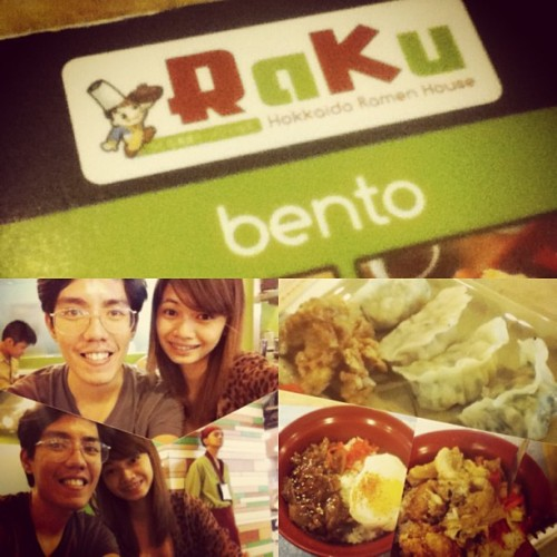 Dinner earlier @ naiaT3 happy 55th month to us Clarence 😍🍱 #japanese #airport #latepost #raku