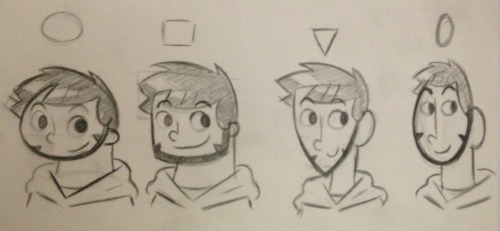 Head shape experimentation!