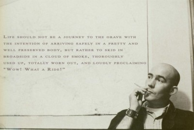 commovente:  Hunter S. Thompson