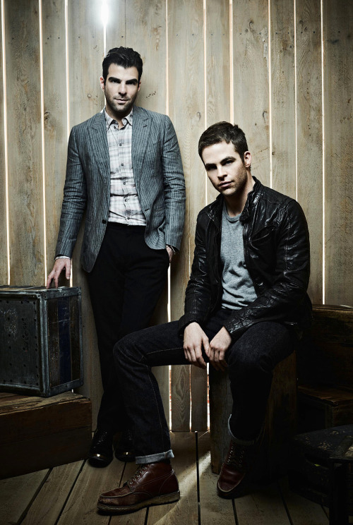 repimg:  Zachary Quinto & Chris Pine #01