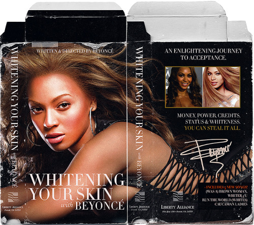 Whitening Your Skin with Beyoncé.