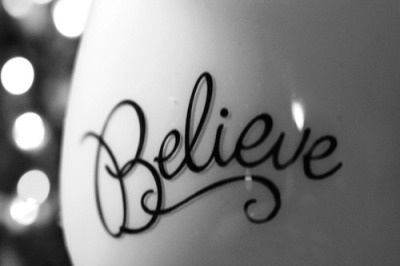 loveyoupinkypromise:  Believe | Words • Quotes • Sayings on @weheartit.com - http://whrt.it/114Zuh3