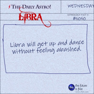 Libra 5050: Check out The Daily Astro for facts about Libra.
