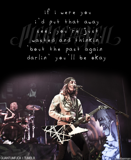 quantumfuck:  Pierce The Veil - Hold On Til May I never make ptv edits, so here :~)