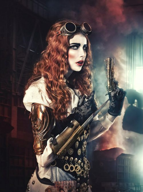 steampunktendencies:  Rebeca Saray
