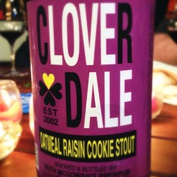 Brought out the Oatmeal Raisin Cookie #Stout at our #wine event!  (at The Wookie's Lair)