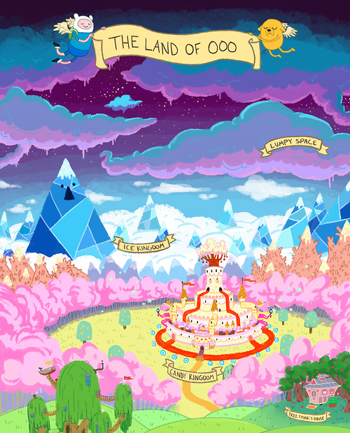 Finn the Human jake the dog land of ooo Adventure Time