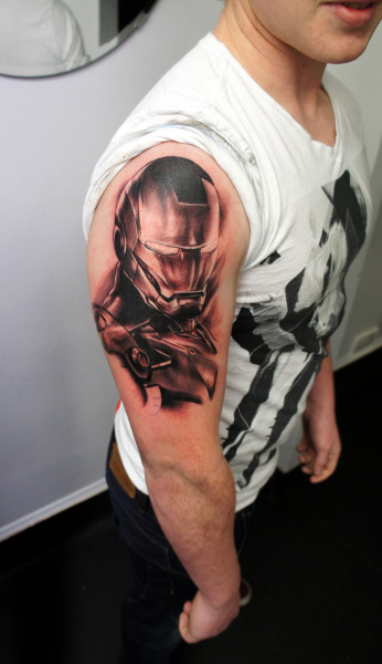Did this on a friend a while back @gordonptattooist.