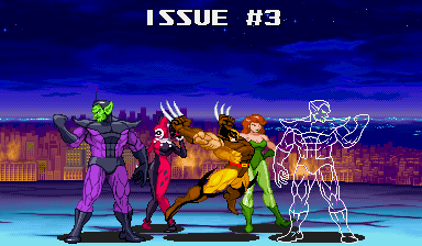 """issue #3# of this week's updates are ready! New sprites of Harley Quinn, Poison Oakey Ivy and the Super-Skrull were just added to the GFX Generators that use fighting game sprites. I also added an older edit of Wolverine that isn't too shabby. There will be one more update like this tomorrow, but with more stuff. BTW: if you hit the comic shop tomorrow for the special Free Comic Book Day books, buy a few regular comics, too. The shop has to pay for the free books, so help 'em out with some sales if they're good to you."