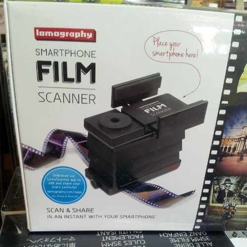 Super dope film scanner for ur smart phone!!! (at Blick Art Materials)